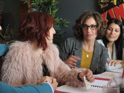 Cristina Raya, Miriam Tortosa, Anna Bertran