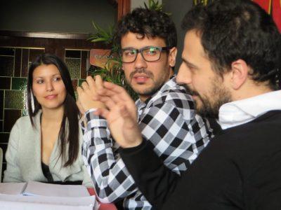 Cristina Raya, Roc Esquius, Ruben Serrano