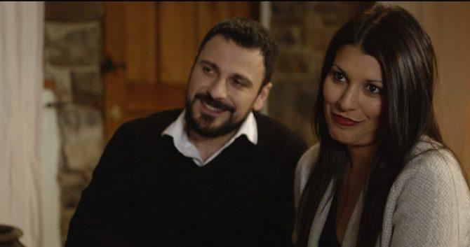 Ruben Serrano and Cristina Raya
